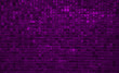 little shiny violet squares background