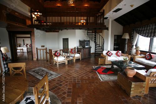 hotel lounge, nepal