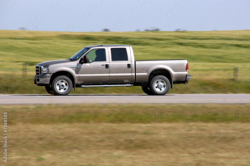 Fototapety, obrazy: Pickup truck