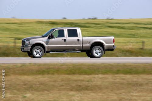 Obraz Pickup truck - fototapety do salonu