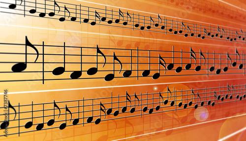 Fotografie, Obraz  Music