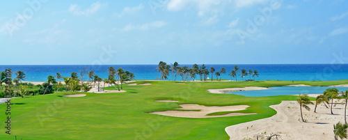 Deurstickers Golf Golf cap cana