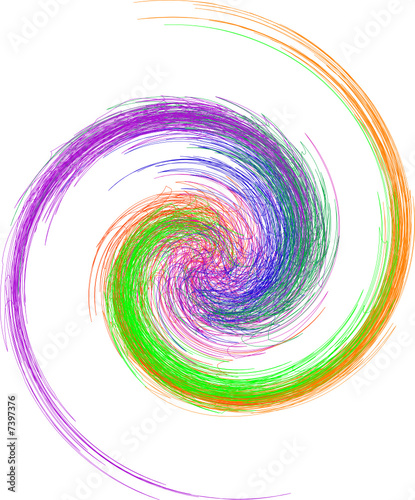 Canvas Prints Spiral abstrakte Grafik, Spirale