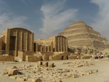 The Step Pyramid Of King Djose...