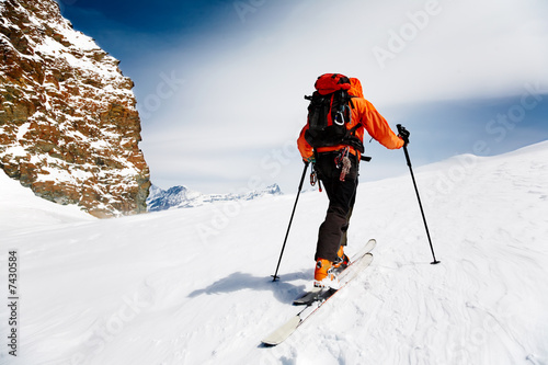 Fotografía  ski climber