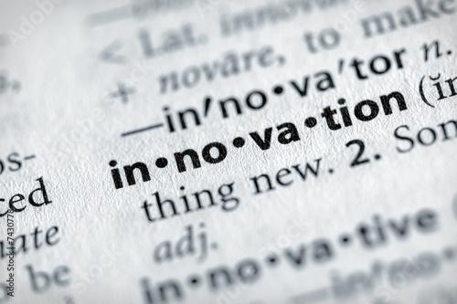 Fotografie, Obraz  Dictionary Series - Science: innovation