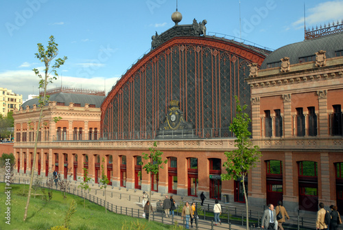 Canvas Prints Train Station Gare d'Atocha