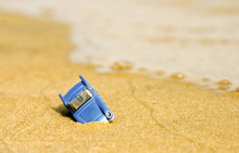 Voiture Miniature échouée