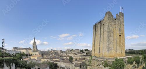 Photographie le village de saint emilion