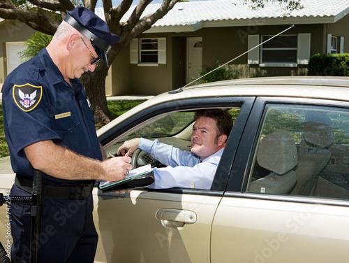 Fotografie, Obraz  Police - Writing Ticket