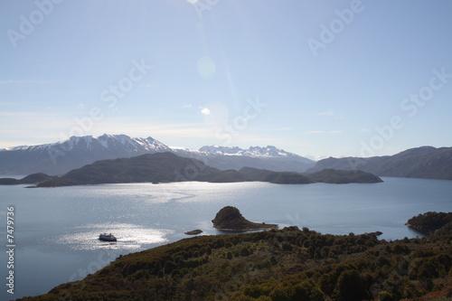 Cadres-photo bureau Cote Patagonien