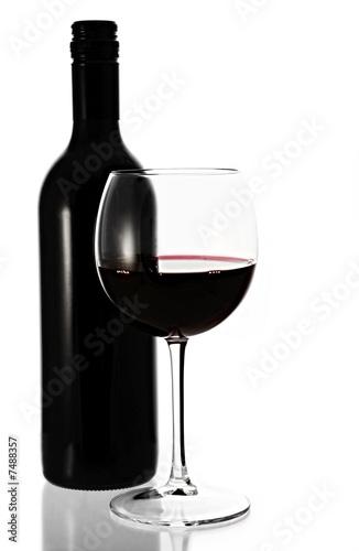 Fotografie, Obraz  Červené víno
