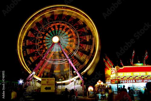 Foto op Aluminium Carnaval Ferris Wheel
