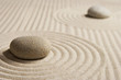 canvas print picture - Mini zen garden
