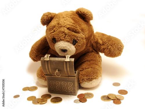 teddy-bear&treasure #7501306