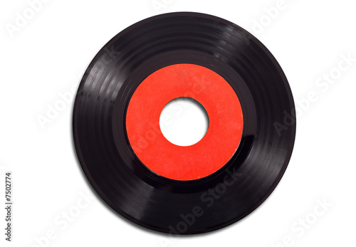 Fotografía  Vintage Record Albums