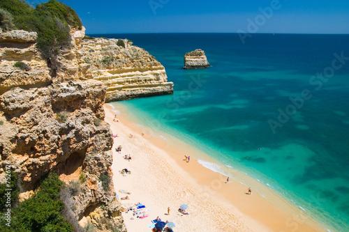 Foto Rollo Basic - European Holiday Beach (von Springfield Gallery)