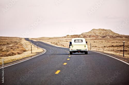 Keuken foto achterwand Vintage cars travel America