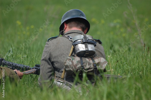 WW2 german soldier