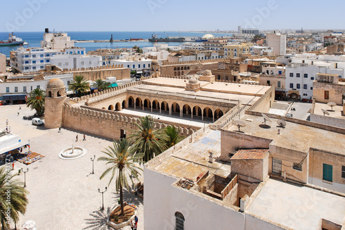 Photo sur Toile Tunisie View onto Sousse, Tunisia