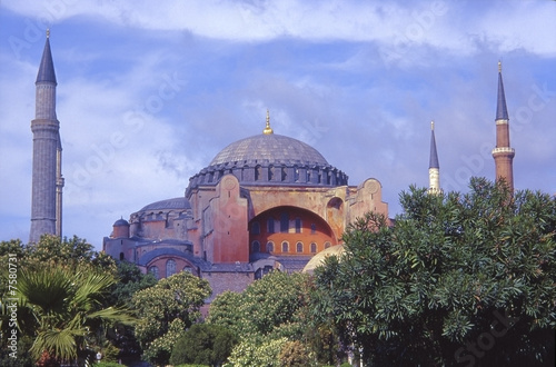 Sainte Sophie mosque, Istanbul фототапет