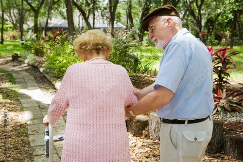 Fotografía  Senior Caretaker