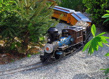 Modelleisenbahn,Zug,Detail