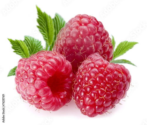 Poster Fruits Raspberries