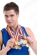 Neck Full Of Medals