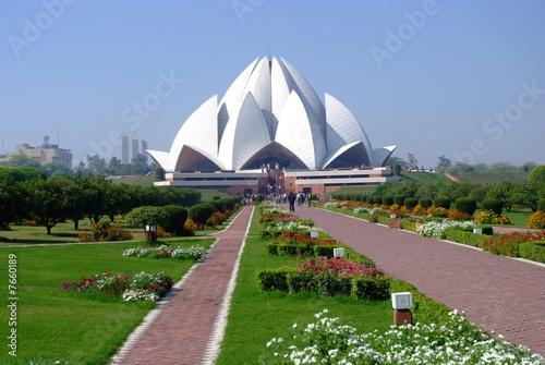Photo sur Toile Delhi Lotus Temple