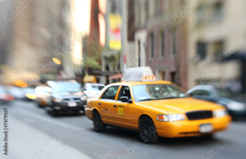 Street scene, New York