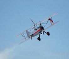 Wingwalker & Plane