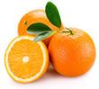 Leinwandbild Motiv orange
