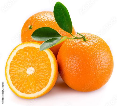 Foto-Kissen - orange
