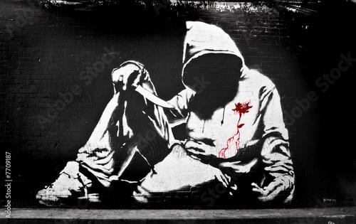 graffiti-chlopiec-z-nozem