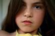 Leinwanddruck Bild - junges Maedchen