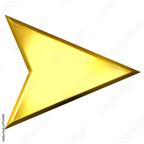Valokuva  3D Golden Arrow