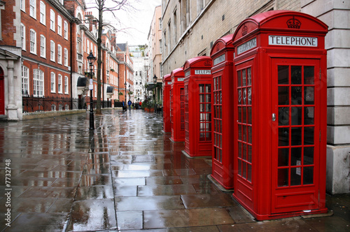 Foto op Canvas Londen London street