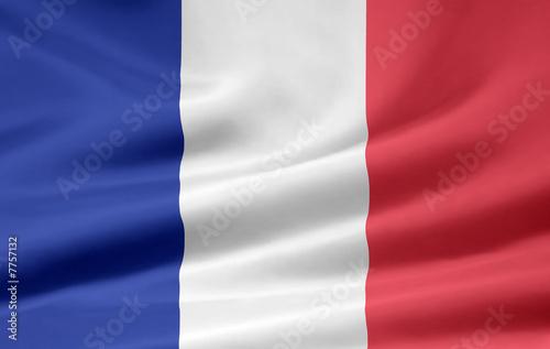 Fototapeta Französische Flagge