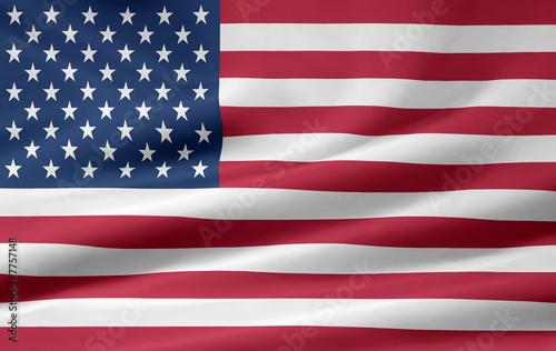 Fotografija  US Amerikanische Flagge