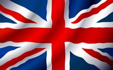 VECTOR United Kingdom Flag Wav...
