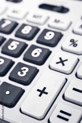 Calculator keyboard detail - 7773751