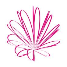 Ink-pink-flower