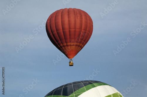 Foto op Canvas Luchtsport montgolfières