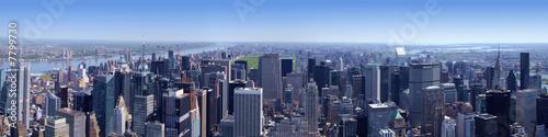 Manhattan Nord vu de l'Empire State Building New York