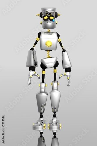 sad robot crying