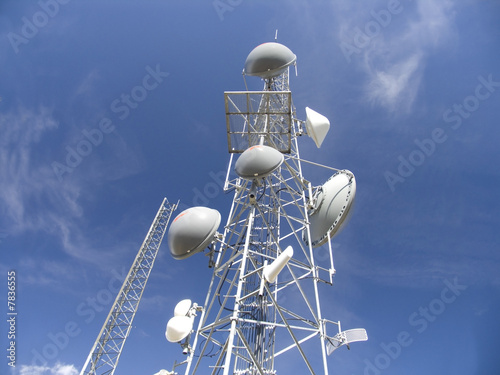 Fotografie, Tablou  communication tower