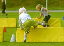 Enfant Course Obstacle