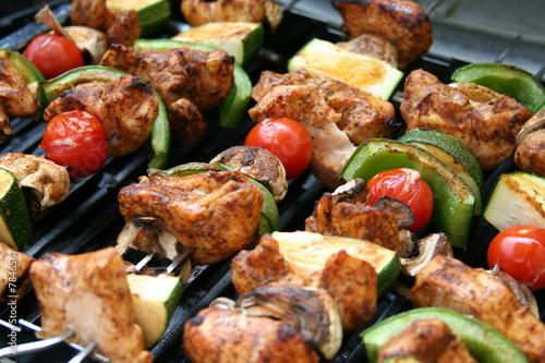 In de dag Grill / Barbecue Chicken