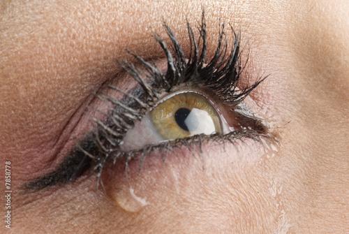 Fotografía  tears